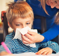 alerjik burun akıntısı